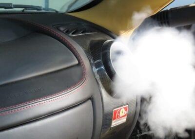 8-Interior Vent Steam Sanitizing