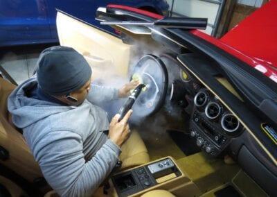 9-Interior Steering Wheel Sanitizing