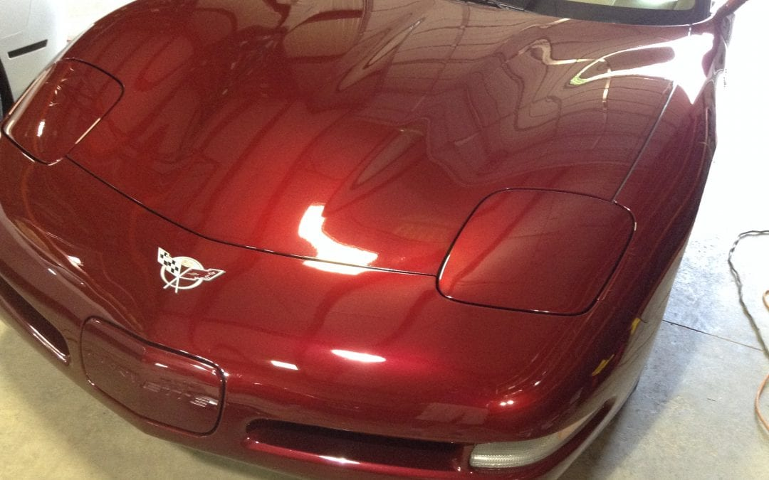 Photos of finished 2002 Chevrolet Corvette