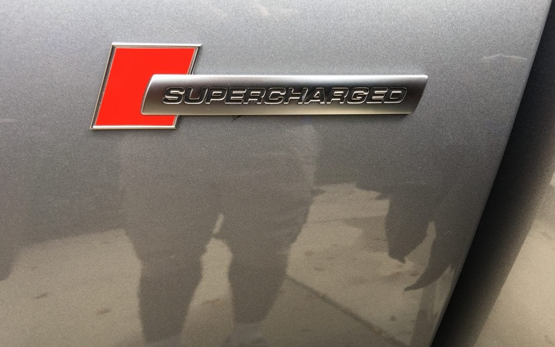Photos of finished 2016 Audi Supercharger