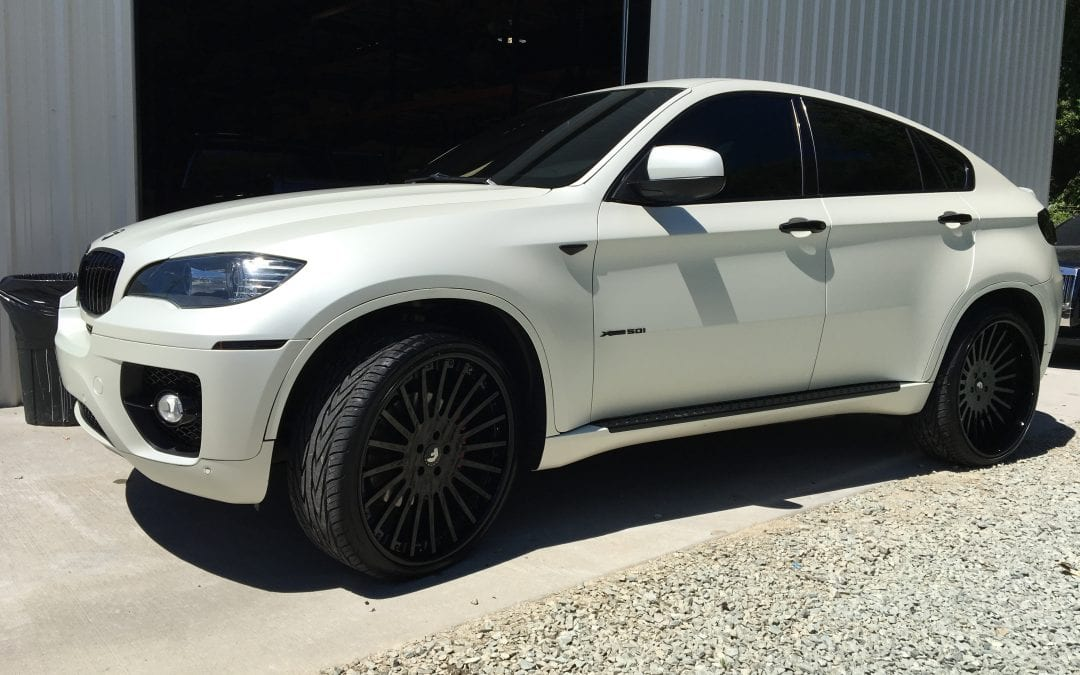 Photos of finished 2014 Bmw X6