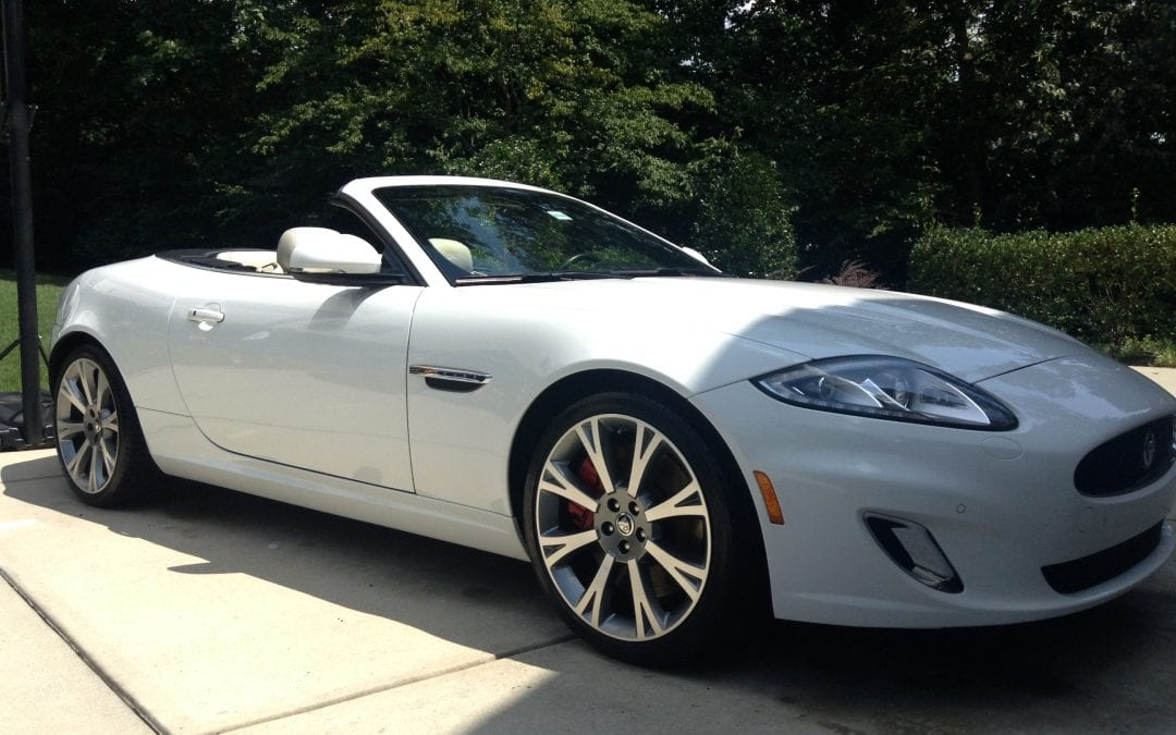 Photos of finished 2015 Jaguar XK- Series Touring
