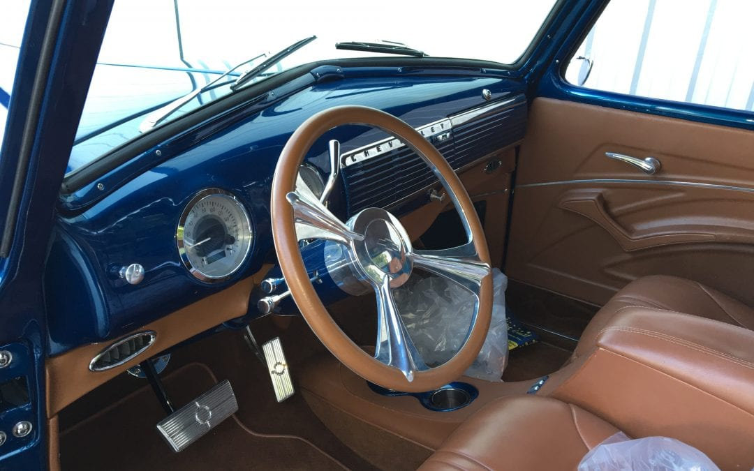 Photos of finished 1957 Chevrolet 3100