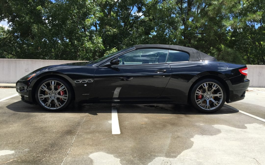 Photos of finished 2011 Maserati Gran Turismo