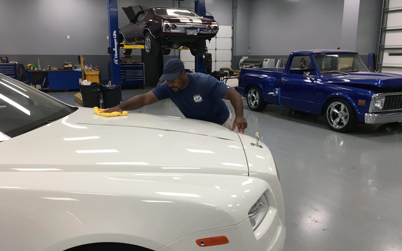 Photos of finished 2016 Rolls Royce Wraith