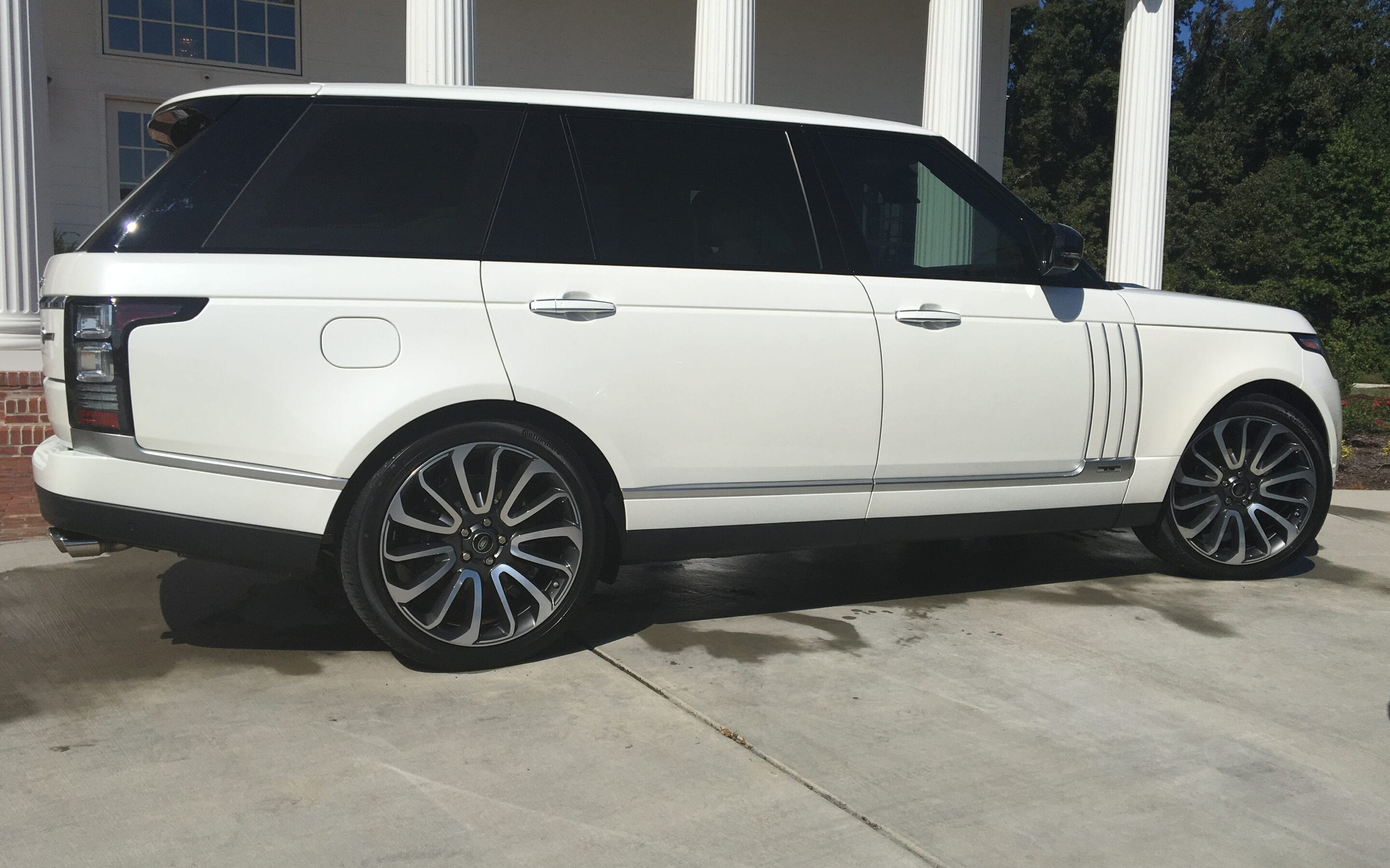 Photos of finished 2017 Range Rover Land Rover