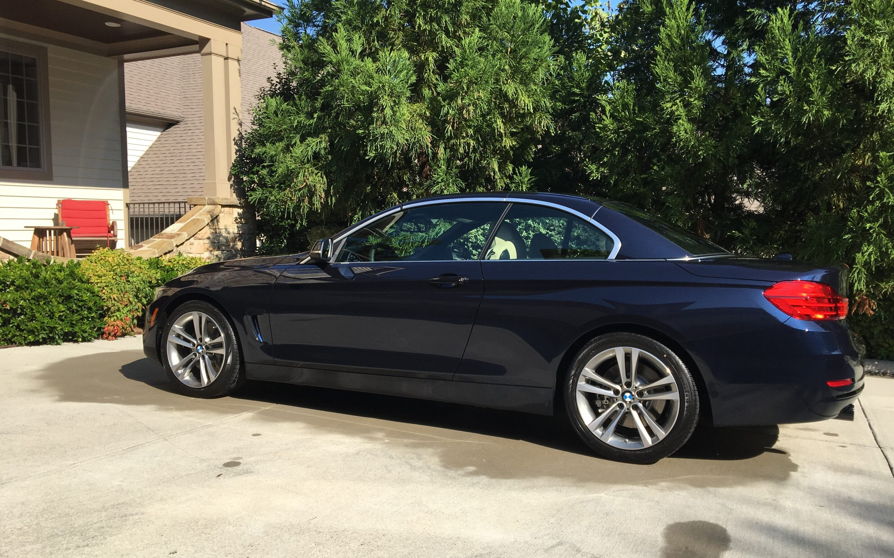 Photos of finished 2014 BMW 325