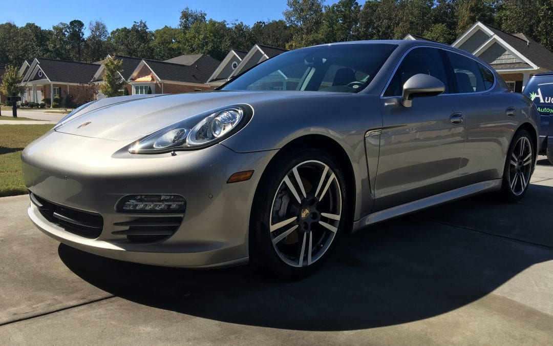 Photos of finished 2014 Porsche Panamera
