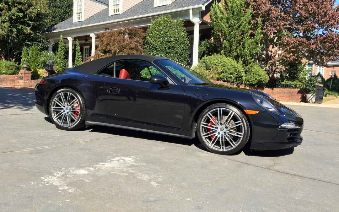 Photos of finished 2015 Porsche 911