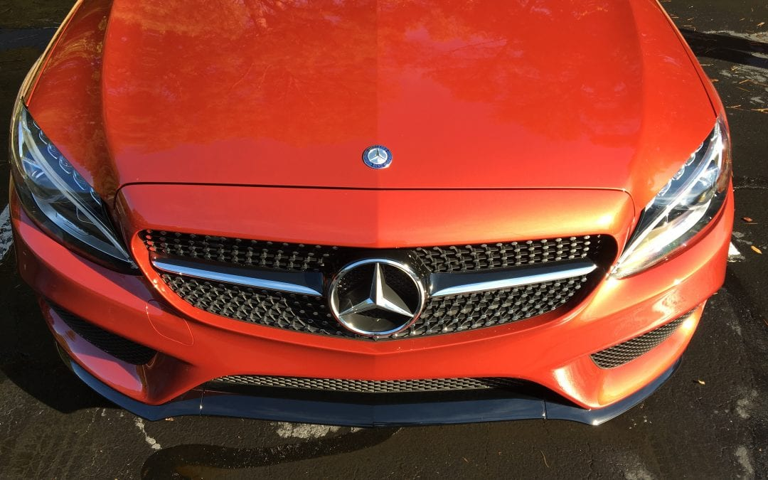 Photos of finished 2017 Mercedes C300