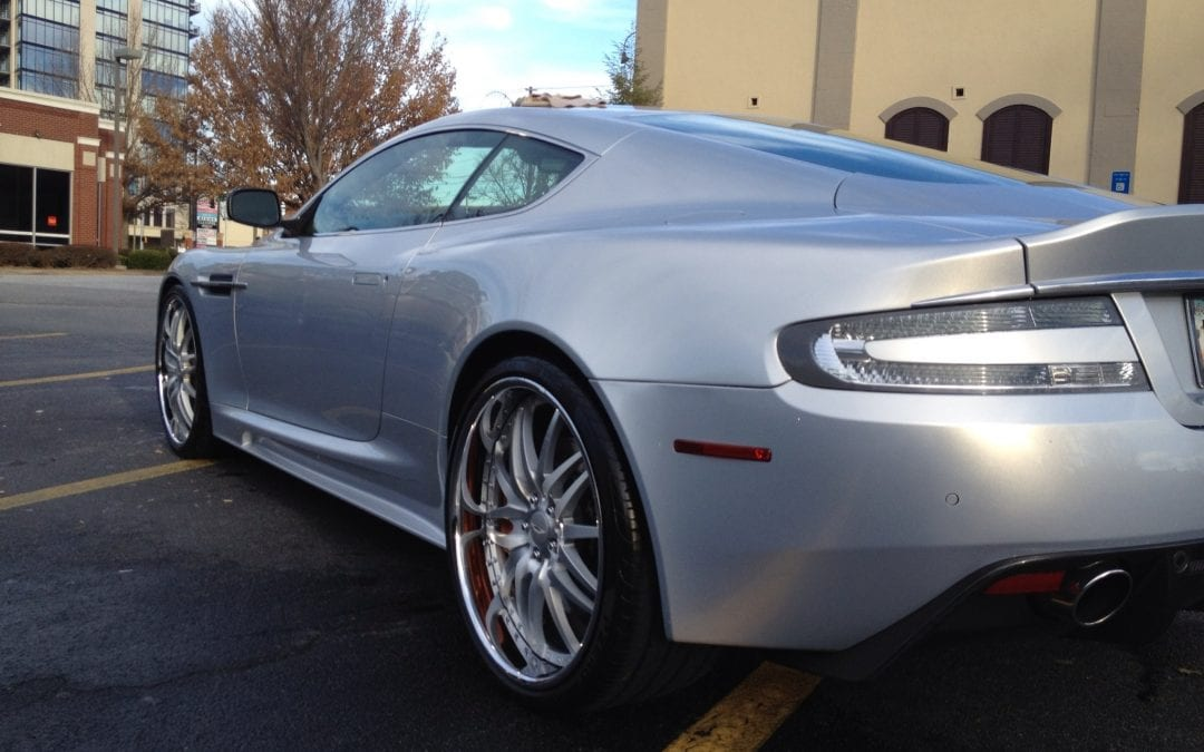 Photos of finished 2015 Aston Martin DB9