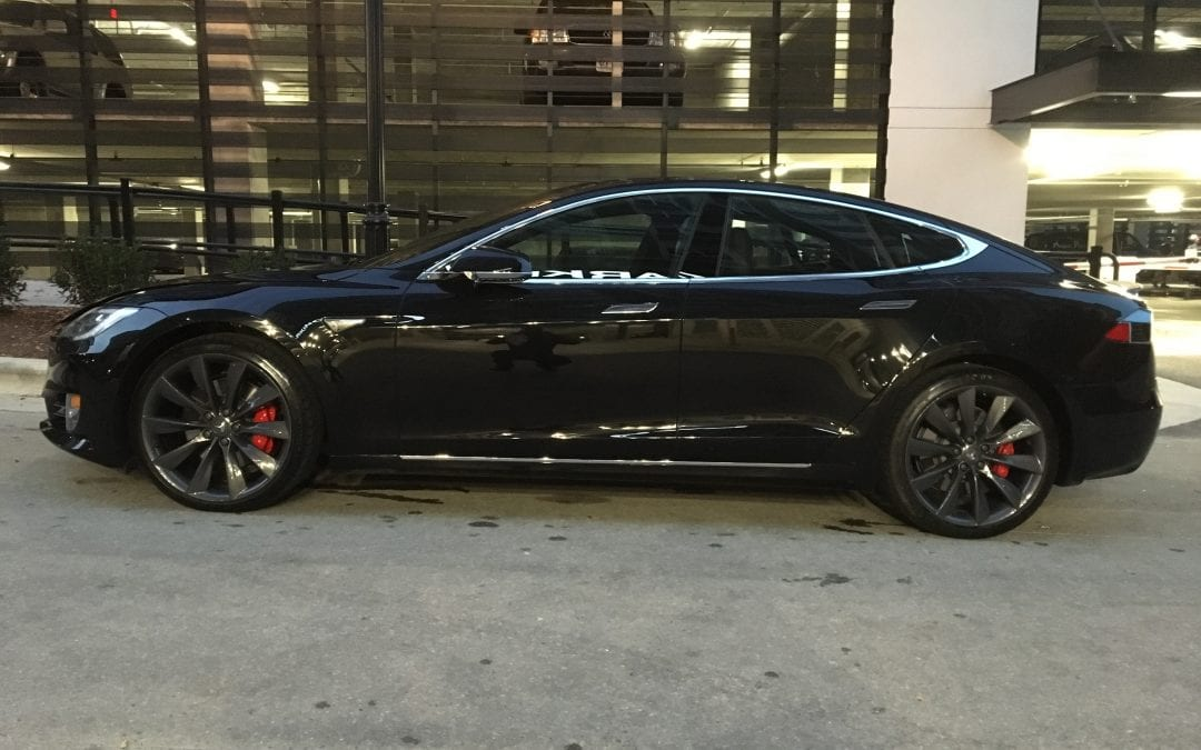 Photos of finished 2016 Tesla I don't know