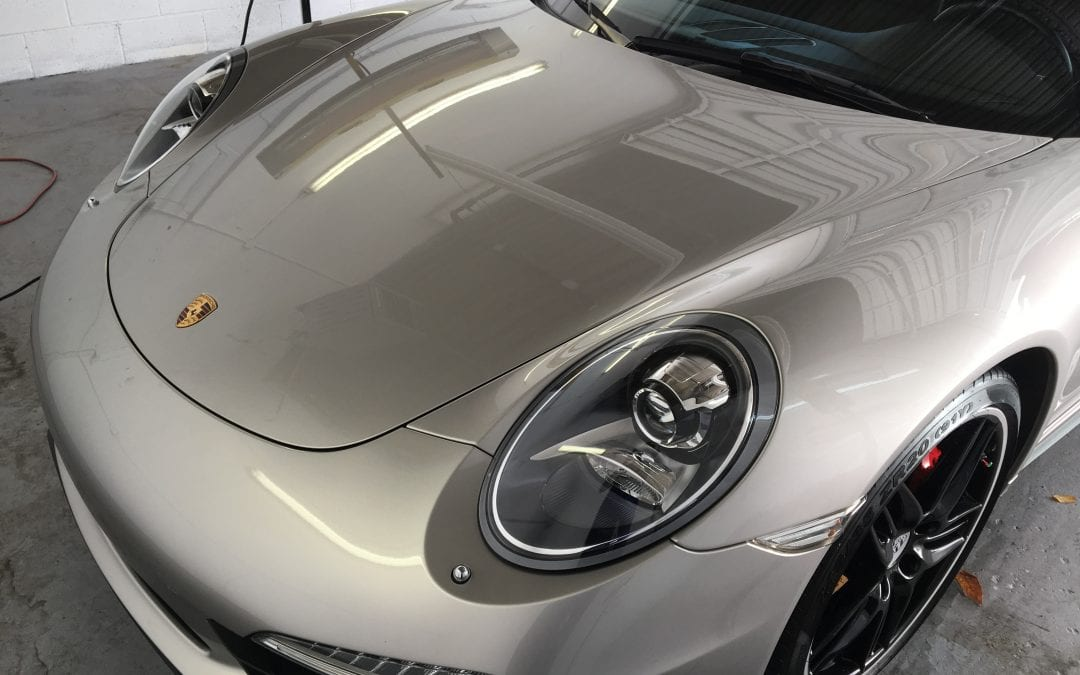 Photos of finished 2013 Porsche 911