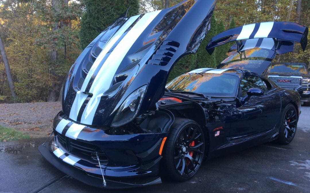 Photos of finished 2016 Dodge Viper