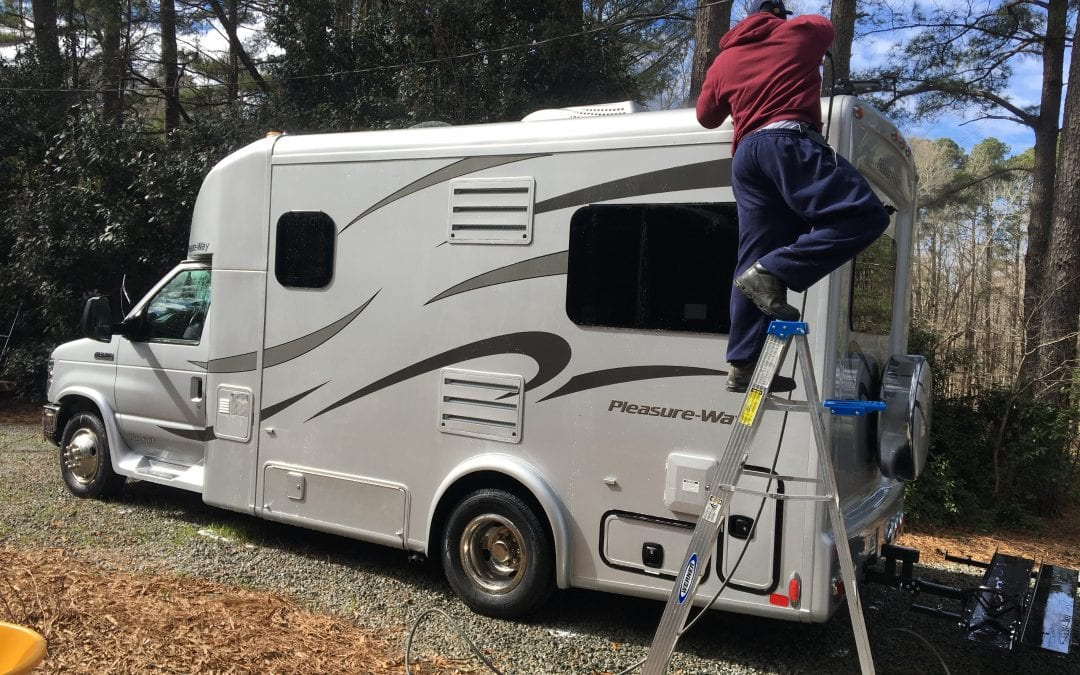 Photos of finished 2015 Ford Rv
