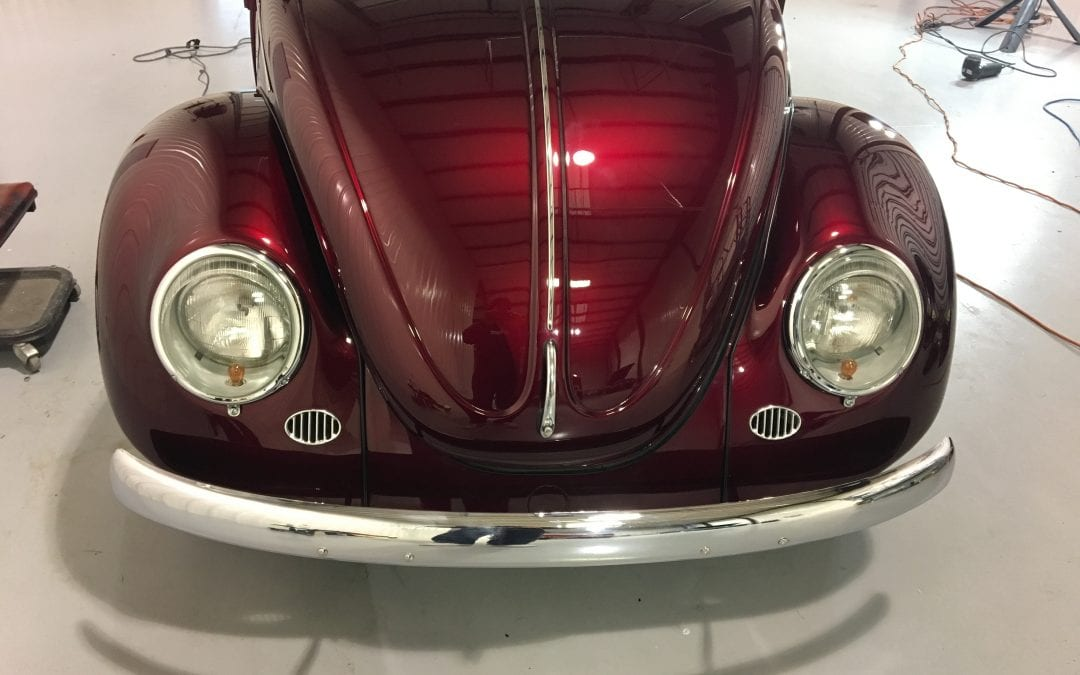 Photos of finished 1980 Volkswagen Bug