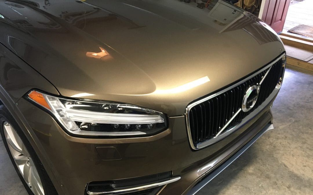 Photos of finished 2017 Volvo