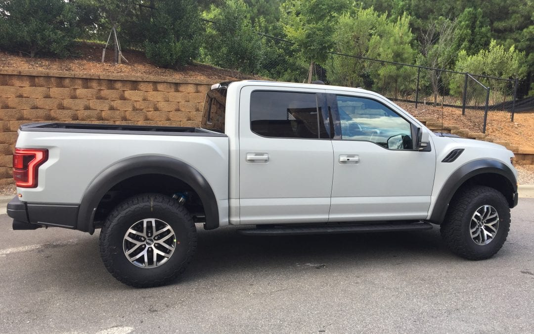 Photos of finished 2017 Ford Raptor