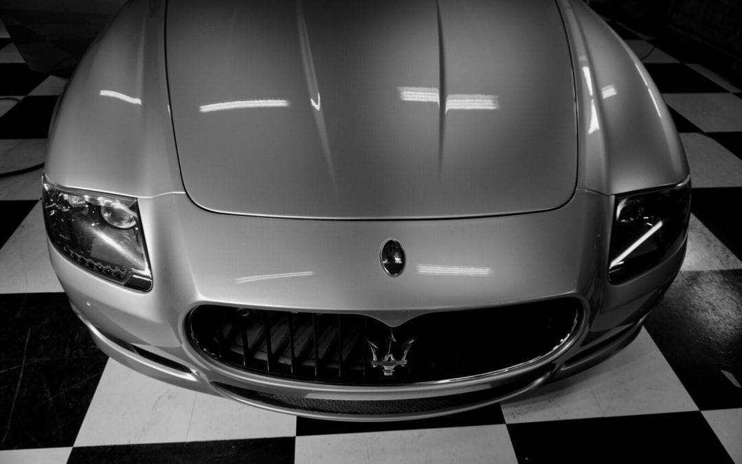 Photos of finished 2013 Maserati