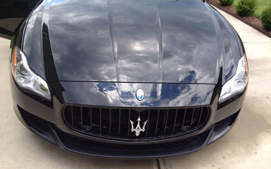 Photos of finished 2014 Maserati DK