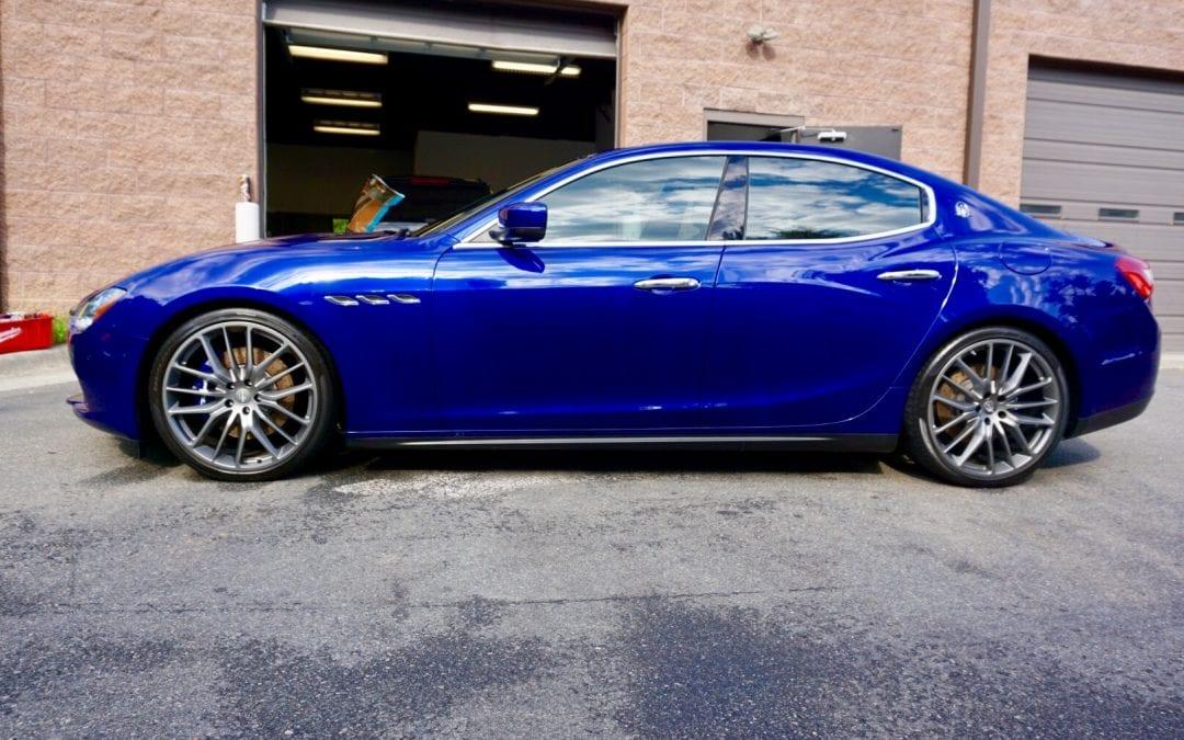 Photos of finished 2015 Maserati