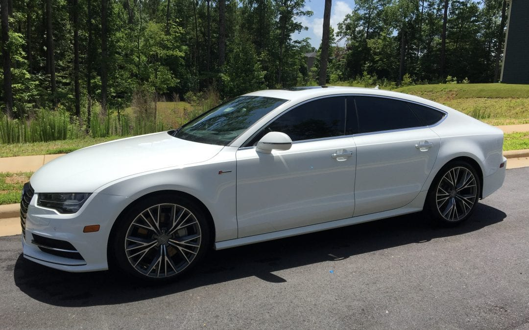 Photos of finished 2014 Audi A7