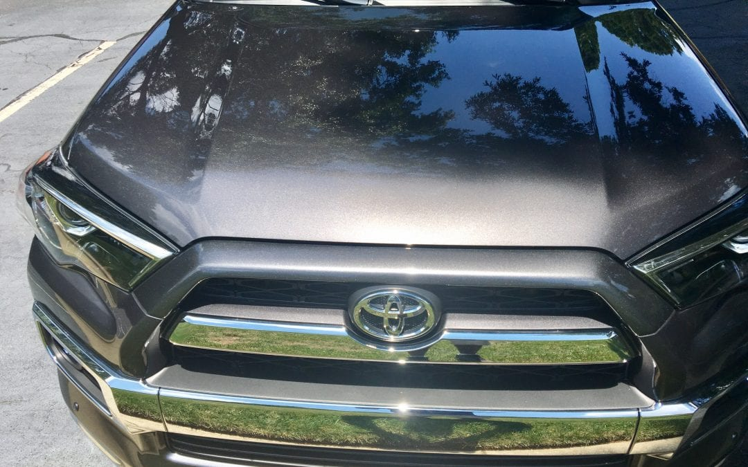 Photos of finished 2017 Toyota 4 Runner