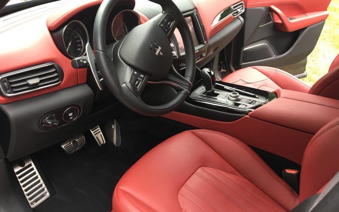 Photos of finished 2017 Maserati Levante SUV