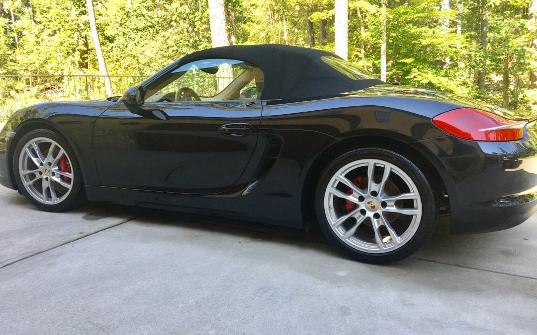 Photos of finished 2014 Porsche Boxster