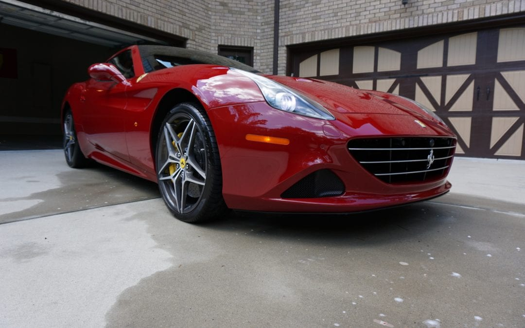 Photos of finished 2016 Ferrari California