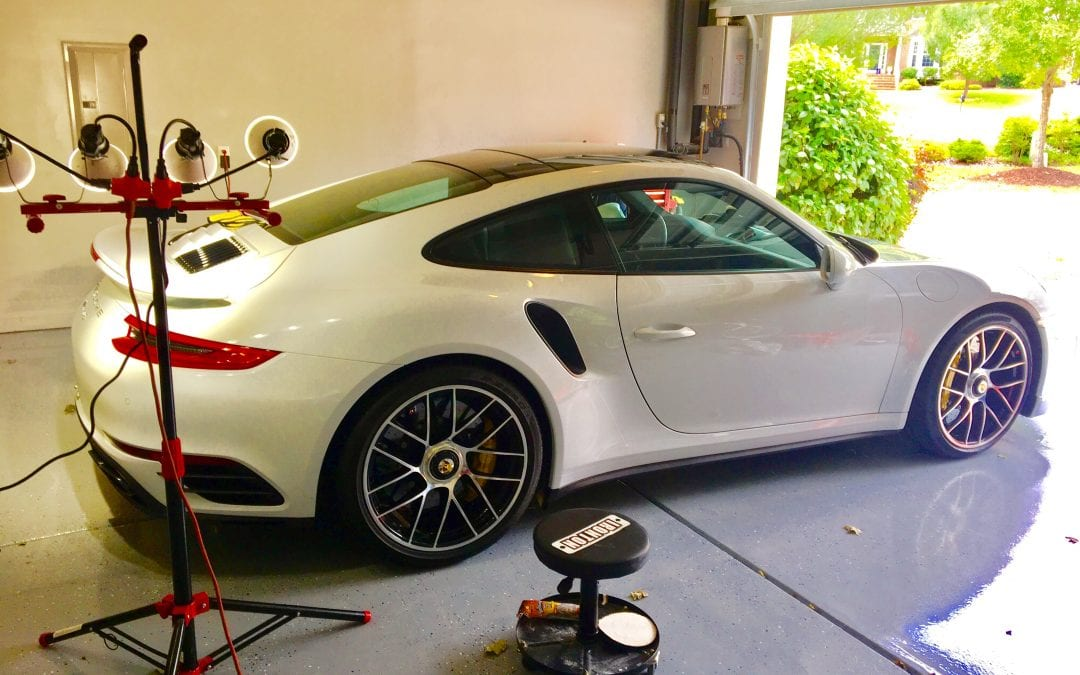 Photos of finished 2016 Porsche 911 Turbo