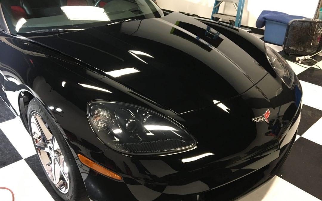 Photos of finished 2012 Corvette Basic