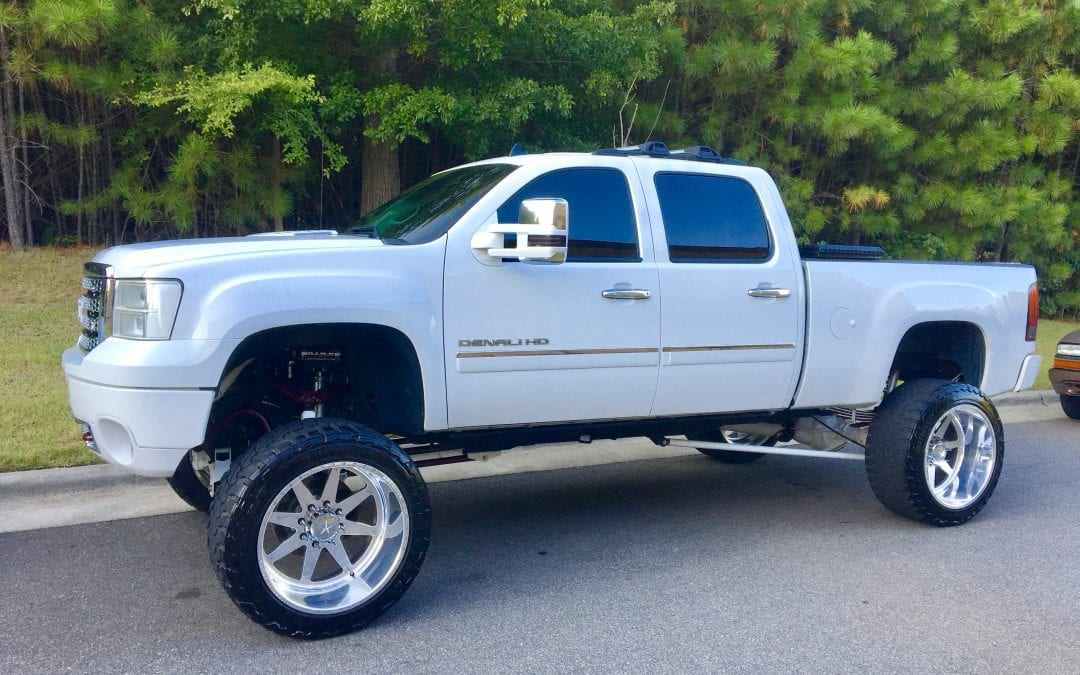 Photos of finished 2014 GMC Truck