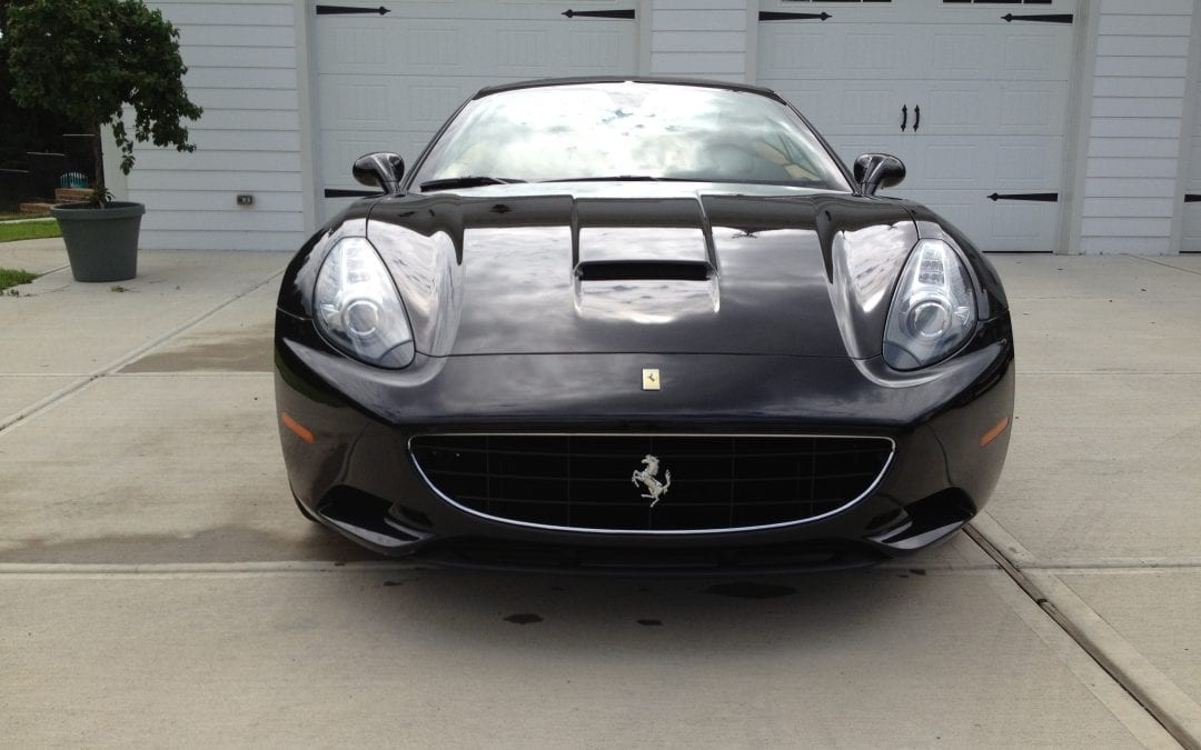 Photos of finished 2012 Ferrari California