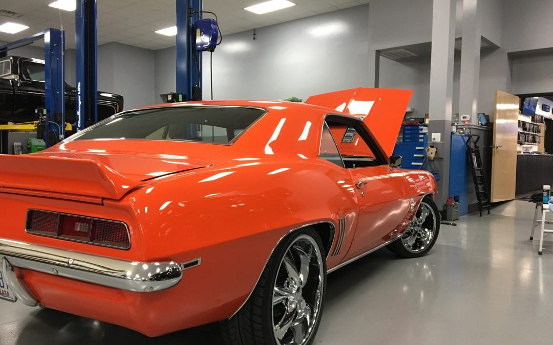 Photos of finished 1969 Chevrolet Camaro SS