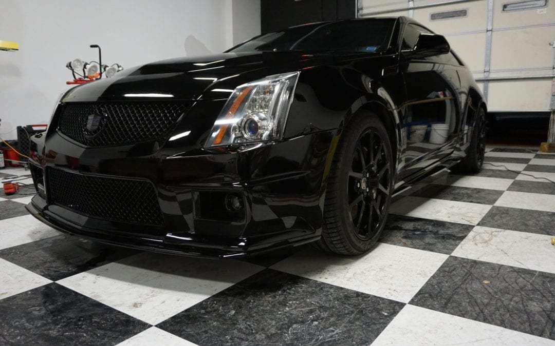 Photos of finished 2014 Cadillac
