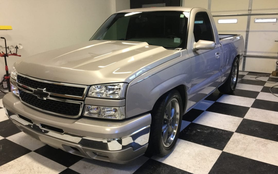 Photos of finished 2000 Chevrolet Pickup