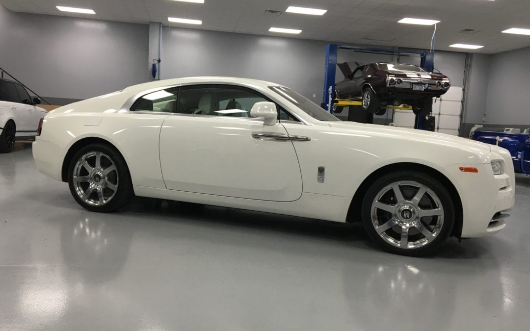 Photos of finished 2015 Rolls Royce Wraith