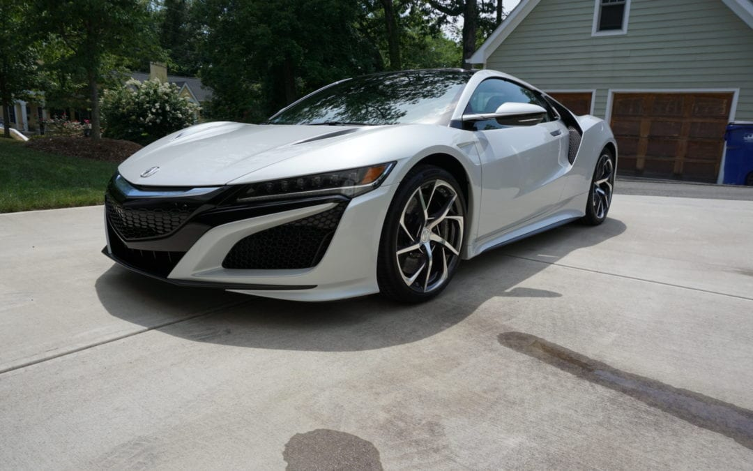 New Car Preparation Package 2017 Acura NSX