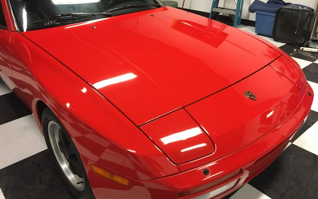 Photos of finished 1990 Porsche 944