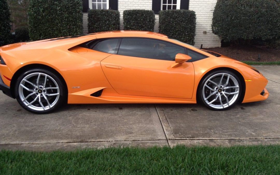 Premier Wash & Quick Restoration 2015 Lamborghini Hurricane