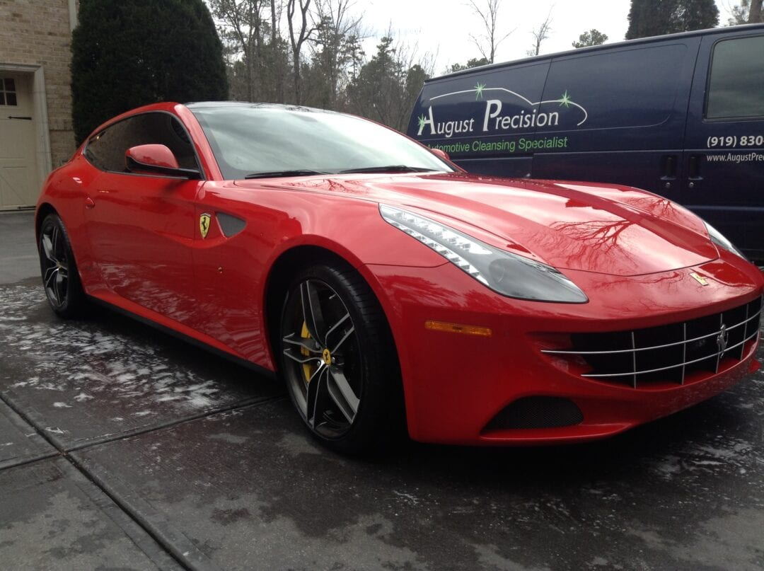Photos of finished 2015 Ferrari FF Hatchback