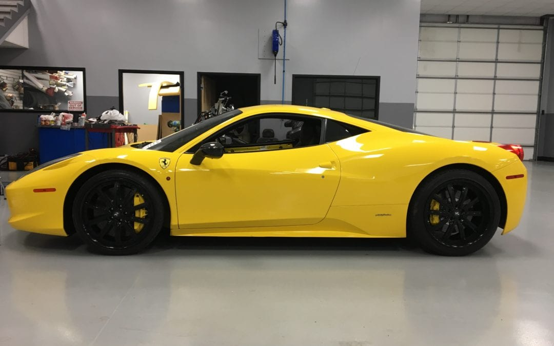 Exterior Restoration of 2016 Ferrari 458