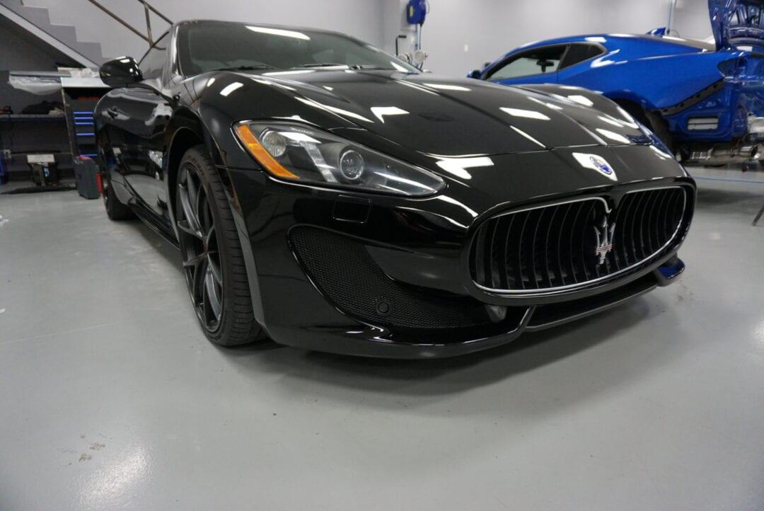 Photos of finished 2012 Maserati Gran Turismo