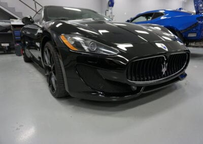 Photos of finished 2012 Maserati Gran Turismo