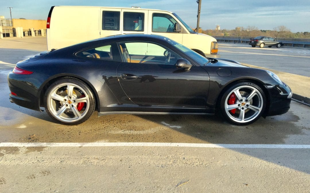 Photos of finished 2014 Porsche 911