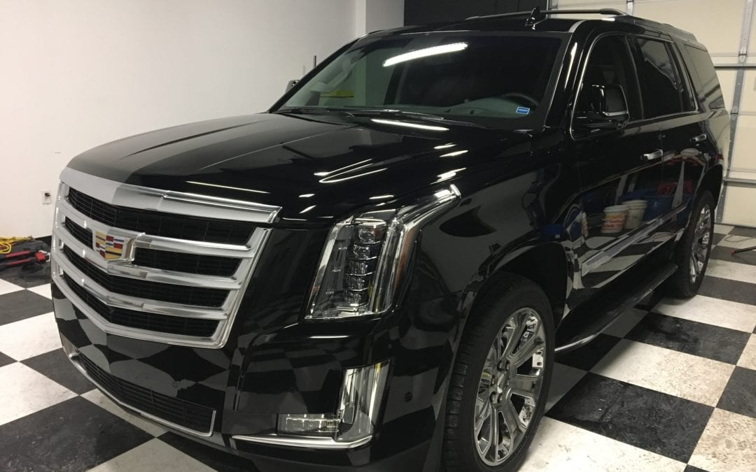 Photos of finished 2017 Cadillac SUV
