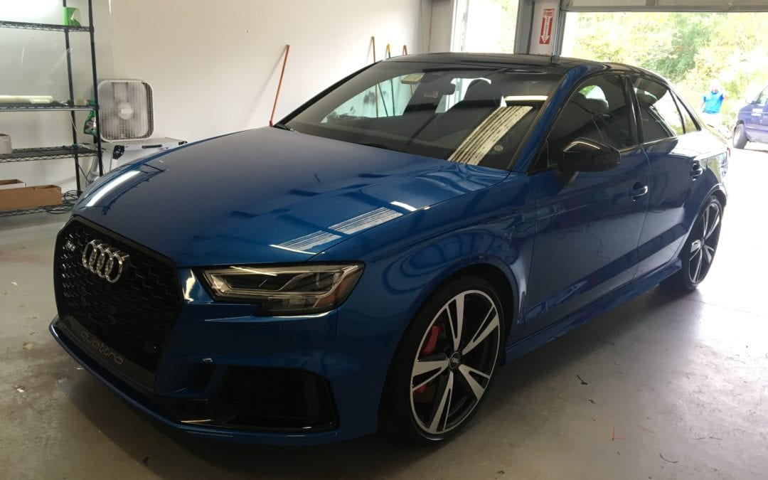 Photos of finished 2017 Audi RS3