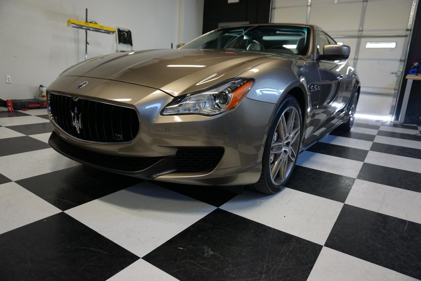 Photos of finished 2016 Maserati Quattroporte