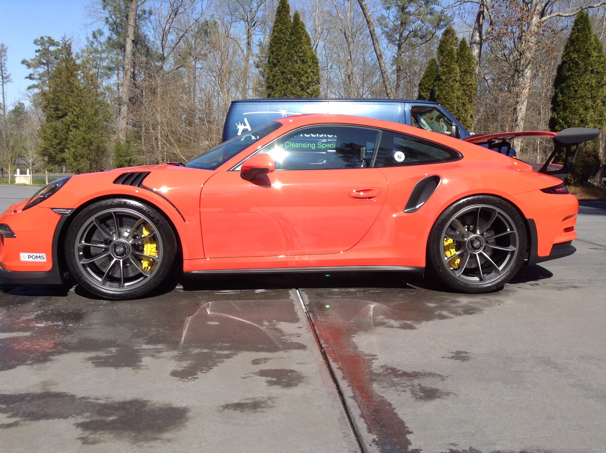 Exterior Restoration of 2016 Porsche GT3RS